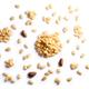 Pine nuts pignoli pinus seeds, top view, paths - PhotoDune Item for Sale