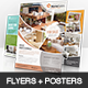 Home And House - Flyer and Poster - GraphicRiver Item for Sale