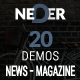 Neder - WordPress News Magazine and Blog Theme - ThemeForest Item for Sale