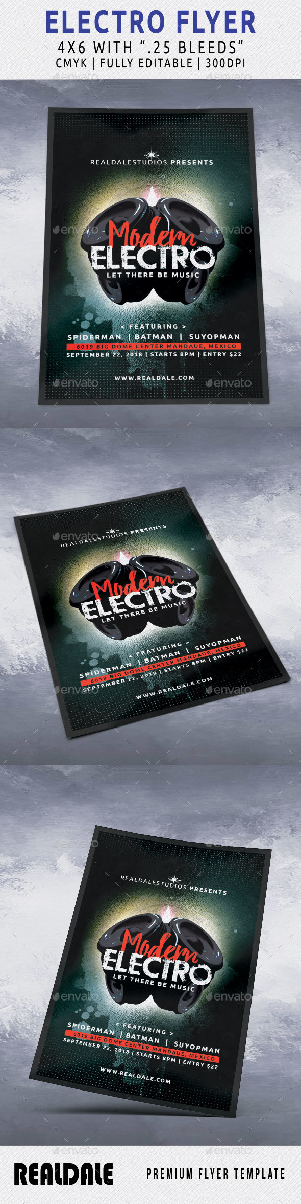 Modern Electro Flyer - Events Flyers