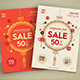Chinese New Year Sale Flyer - GraphicRiver Item for Sale