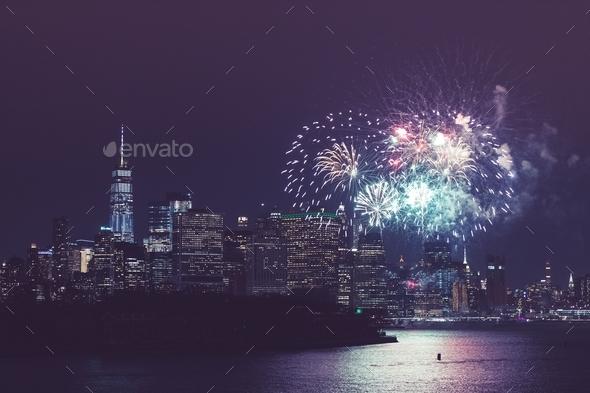 New York City Celebration - Stock Photo - Images