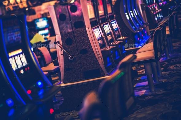 Casino Gambling Machines - Stock Photo - Images