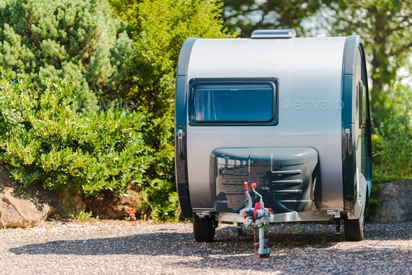 Travel Trailer Vacation - Stock Photo - Images