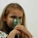 of Beautiful Caucasian Teen Wearing Inhaler Mask and Breathing - VideoHive Item for Sale