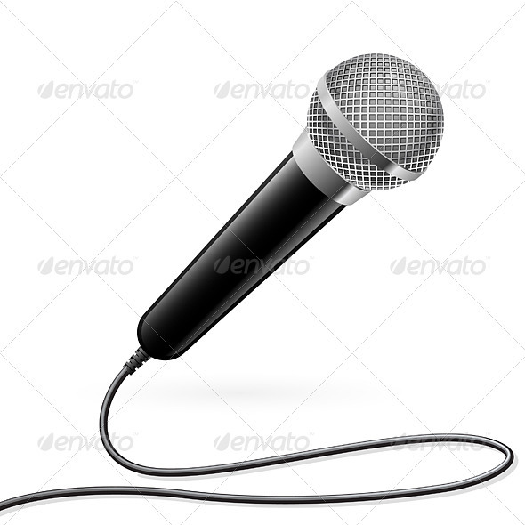 Microphone for Karaoke - Man-made Objects Objects