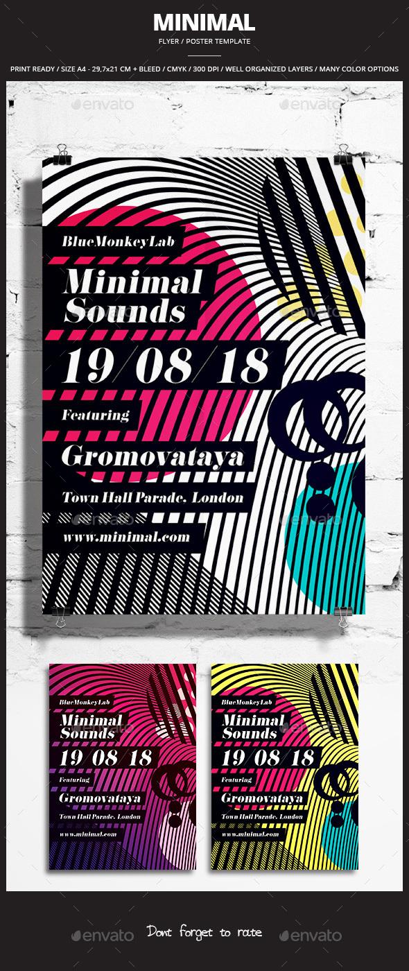 Minimal Flyer / Poster 7 - Events Flyers