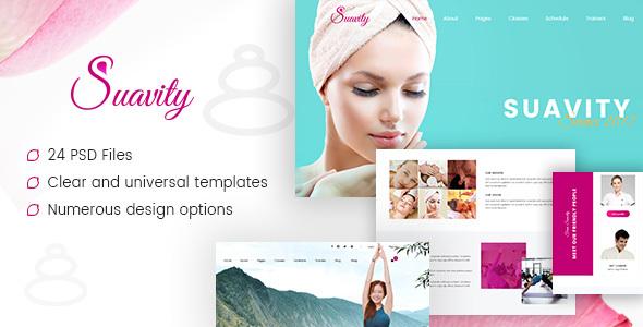 Suavity - Yoga & Spa PSD Template