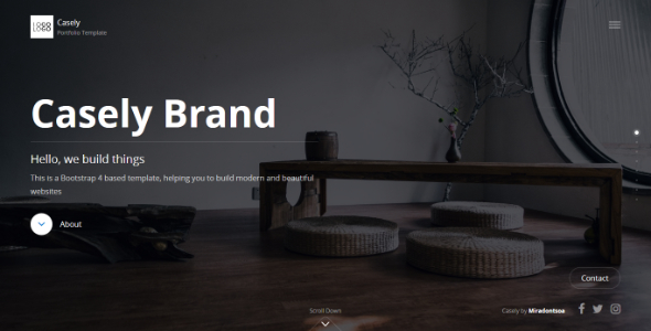 Image of Casely - Creative Website Template for Agency, Business and Portfolio