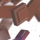 Falling Chocolate Pieces - VideoHive Item for Sale