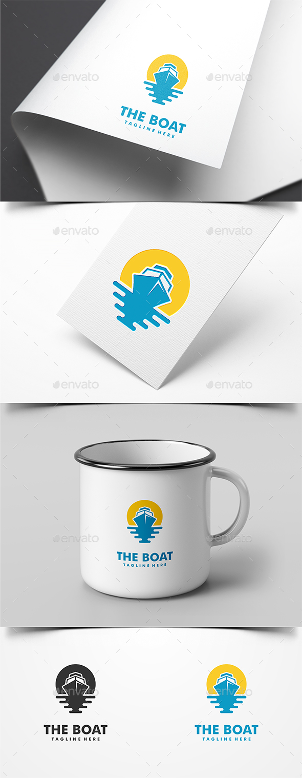 The Boat Logo Template - Logo Templates