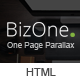 BizOne - One Page Parallax - ThemeForest Item for Sale