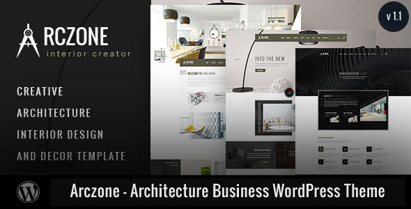 Arczone - Architecture Business WordPress Theme