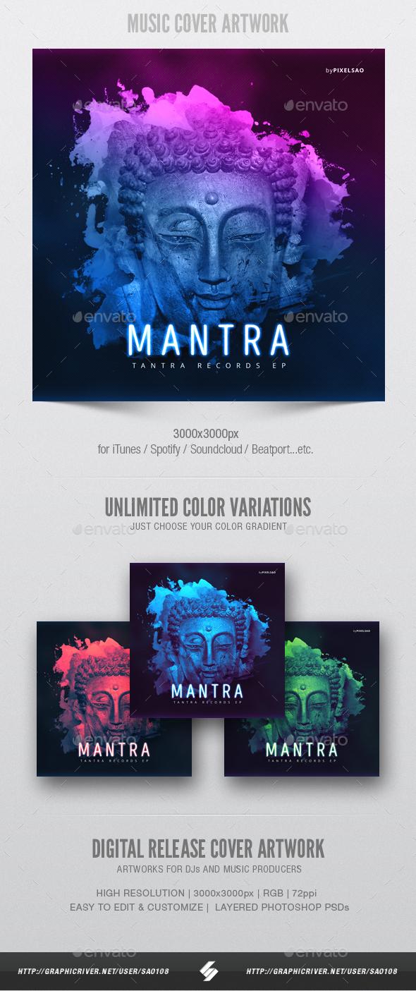 Mantra - Music Album Cover Artwork Template - Miscellaneous Social Media