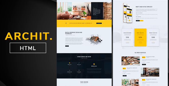 Archit. - Multipurpose - Corporate Site Templates