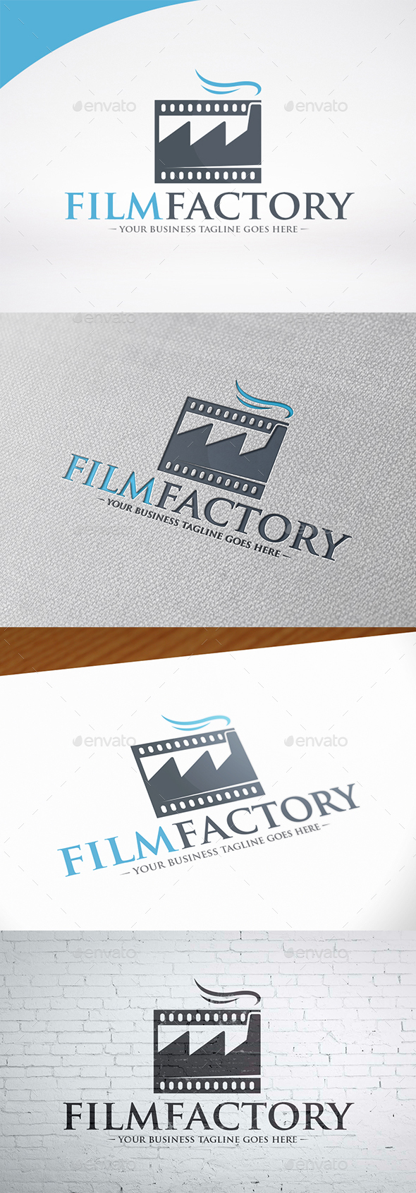 Movie Industry Logo Template - Symbols Logo Templates