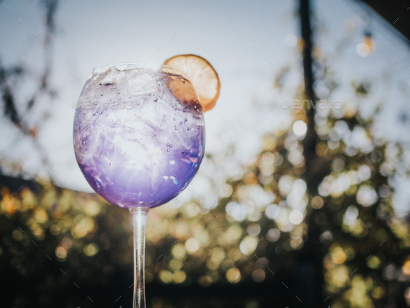 Colorful Cocktail - Stock Photo - Images