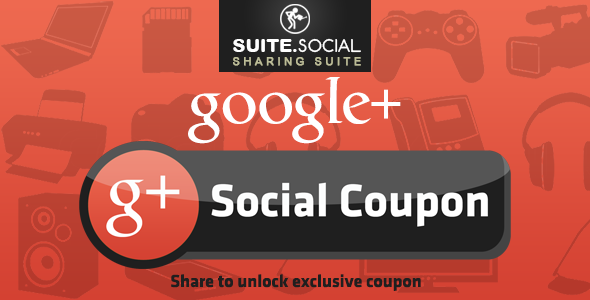 Social Sharer - Google+ Social Coupon - CodeCanyon Item for Sale