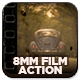 Old 8mm Animated Film Photoshop Action - GraphicRiver Item for Sale