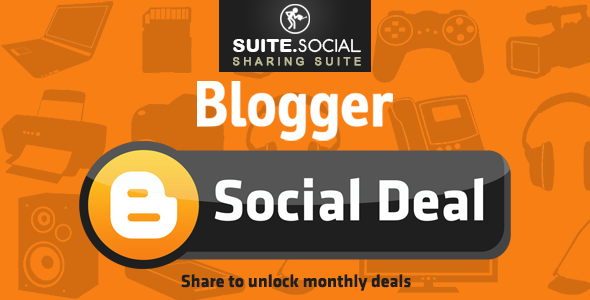 Social Sharer - Blogger Social Deal