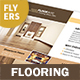 Flooring Service Flyers – 4 Options