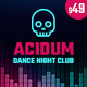 Acidum - DJ, Dance & Disco Night Club and Music WordPress Theme