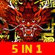 China Dragon 5 in 1 Vj