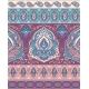 Bohemian Indian Mandala Print. Vintage Henna