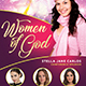 Women of God Church Flyer
