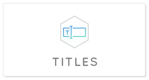 Title AE Projects