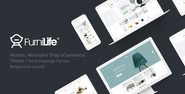 Image of Furnilife - Furniture, Decorations & Supplies Opencart Theme