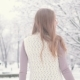 Beautiful Blonde Woman in Winter Park. She Is Happy in the Winter - VideoHive Item for Sale