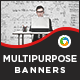 Multipurpose HTML5 Banners - 7 Sizes
