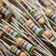 Heap of resistors background - PhotoDune Item for Sale