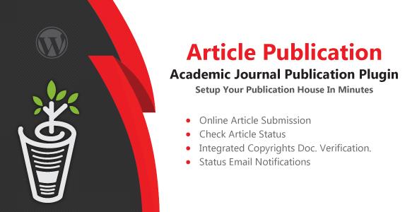 CodeCanyon Article Publication Wordpress Plugin 21211407