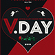 Valentines Day Flyer Template V17 - GraphicRiver Item for Sale