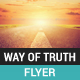 The Way Of Truth Flyer - GraphicRiver Item for Sale