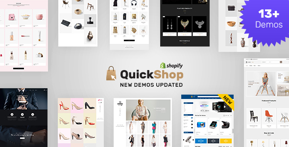 Quick Shop | Sectioned Shopify Store - Shopify eCommerce