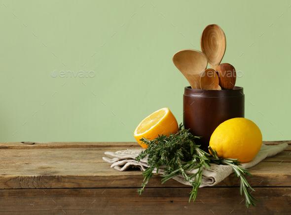 Kitchen Utensils - Stock Photo - Images