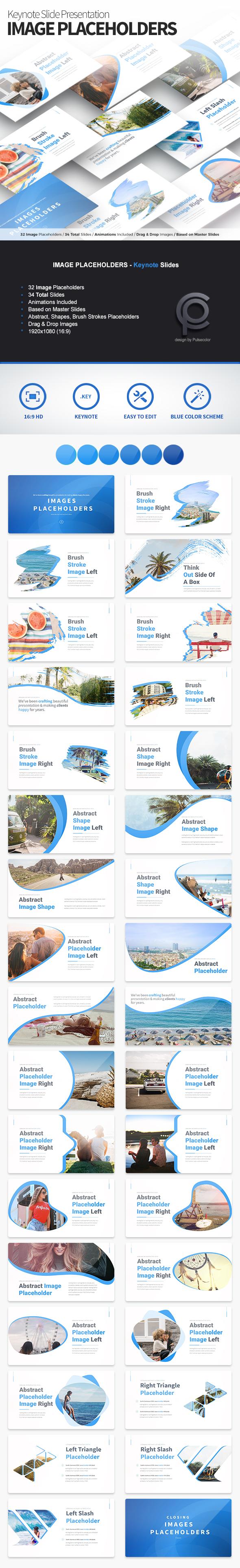 Image - Placeholders Keynote Slides - Business Keynote Templates