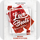 Love Beats Valentine Day Flyer - GraphicRiver Item for Sale