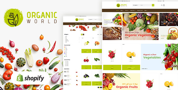 Organic Food Shopify Theme