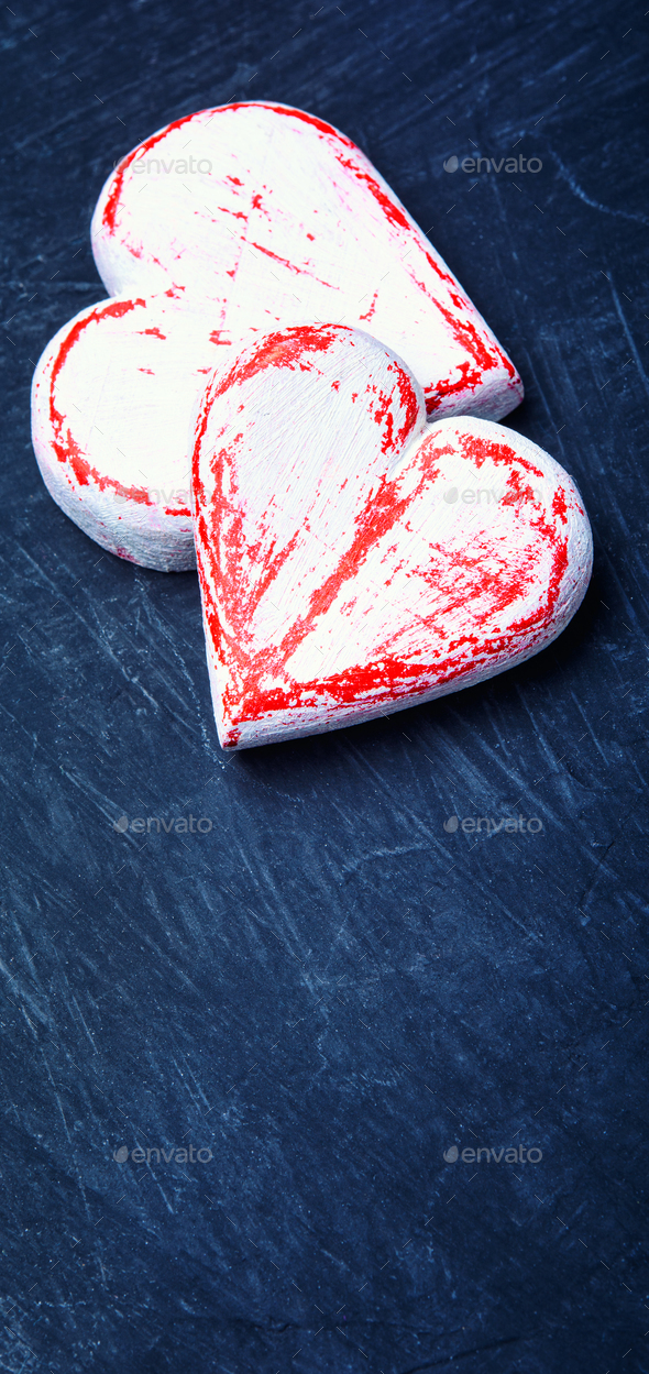 Symbolic heart for Valentines Day - Stock Photo - Images