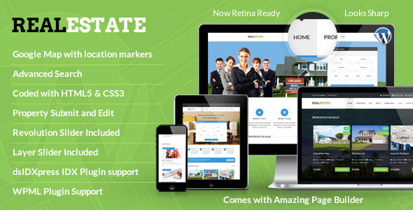 Real Estate - Responsive Real Estate Theme