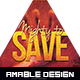 Mighty to Save Church Flyer - GraphicRiver Item for Sale