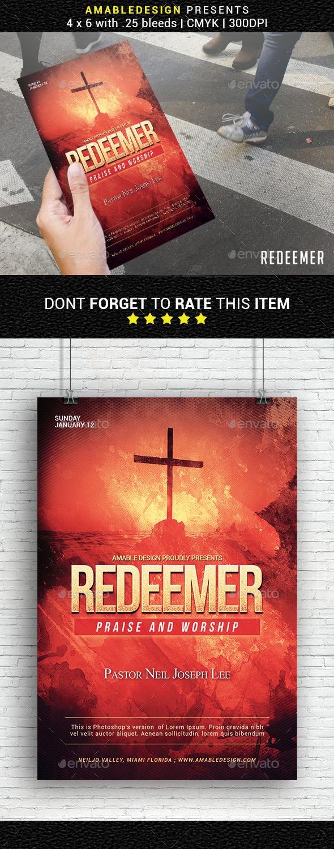 Redeemer Church Flyer - Church Flyers