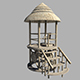 Lifeguard Tower 3d Model - 3DOcean Item for Sale