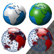 World Globe Pack 4 - VideoHive Item for Sale