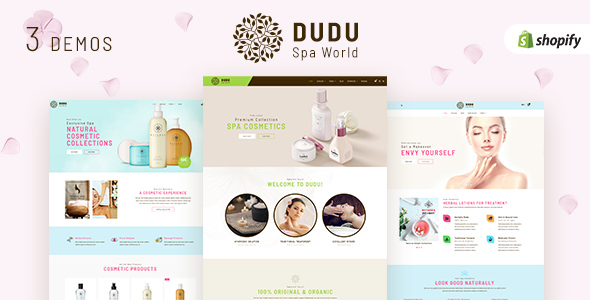 ThemeForest DUDU Beauty Cosmetics Sectioned Shopify Theme 21212417