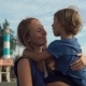 Young Woman and Her Son Walking Around Dinh Cau Lighthouse Symbol of the Island Phu Quoc, Vietnam - VideoHive Item for Sale